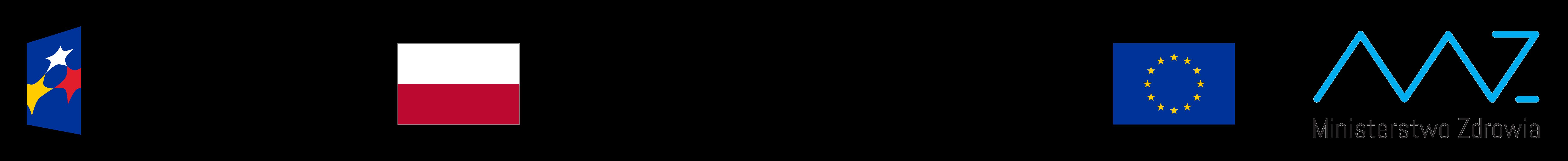 Logo: UE - Polska - Ministerstwo Zdrowia (V)